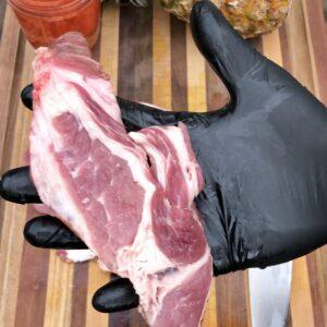 pork sliced thin for al pastor