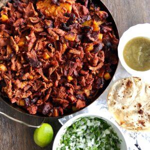 al pastor taco ingredients