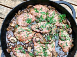 grilled veal marsala recipe