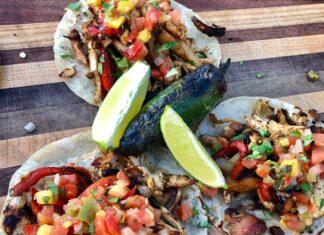chicken fajitas with taco seasoning