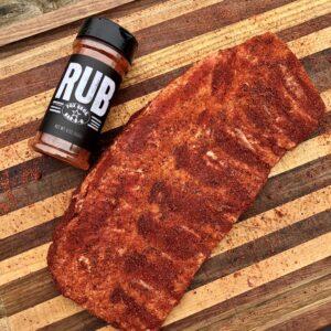 seasoned spare ribs
