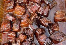 pork belly burnt ends