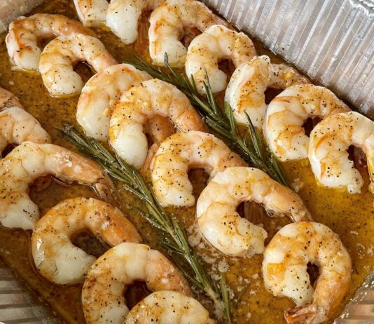 butter smoked shrimp